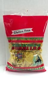 My family LOVES these!  They are delicious, light, crunchy, not too salty, with a subtle hint of lime - true yumminess!  Great in a Taco Plate (what my family calls Haystacks), terrific w/ a fresh salsa - especially with some lime, & great with avocados!  You've got to try these!  In the NW you can find them at Fred Meyer and Grocery Outlet.  For more info check out www.juanitasfinefoods.com - ENJOY!