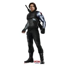 Found it at Wayfair - Winter Soldier from Captain America Civil War Life-Size Cardboard Standup