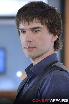 Don't miss Auggie, TONIGHT on Covert Affairs
