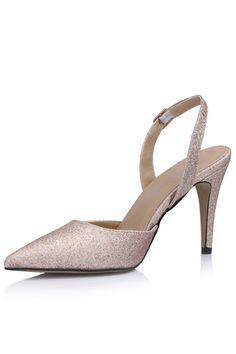 Sapatos de Salto Simples Material do sequin Salto agulha Ocasião especial