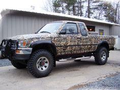 It's a Camo Truck!