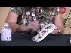 Como decorar lindamente o solado de seu chinelo, facilmente! E como saber o preço de venda! - YouTube
