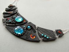 Amazing Polymer Clay Jewelry and Journals by Mandarin Ducky - The Beading Gem's Journal