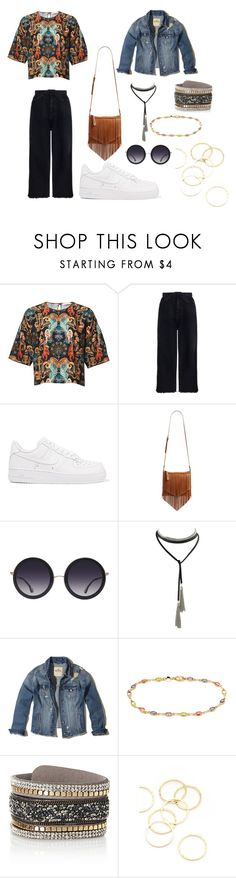 """Sin título #104"" by esther-avayou on Polyvore featuring moda, Zimmermann, NIKE, BP., Alice + Olivia, Hollister Co., Simons y A.V. Max"