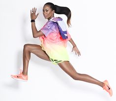 Find out why Sanya Richards-Ross is a serious bosslady