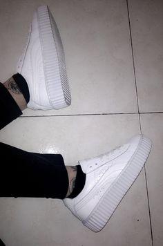 Rihanna Puma x Fenty white creepers