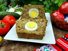 Romanian Food, Easter Traditions, Meatloaf, Banana Bread, Cooking, Desserts, Kitchen, Tailgate Desserts, Deserts