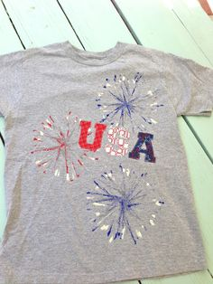 354825986 Jedi Craft Girl: 4th of July Shirts 4th Of July Fireworks, Fourth Of July