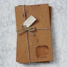 Wood Serving Board Set, I love West Elm!