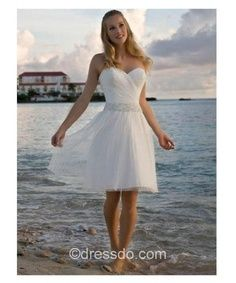 short wedding dresses 2013 | best stuff - wouldn't wear it for the actual wedding but I still like it for someone else