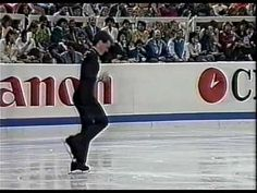Kurt Browning - 1998 World Championships.  His first world title and the quad!