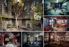 Photos of Post-Apocalyptic Dioramas From Lori Nix's Book, The City: Music + Books