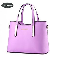 Women's PU Leather Shoulder Bags Top-Handle Handbag Tote ...