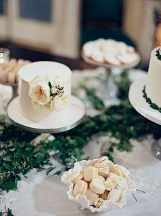 #dessert #display  #earthandsugar #flowers #wedding #flowers  #sweets #styled #table #mini #desserts #cakestand #cake #weddingcake #buttercream #macarons