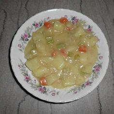 Old-Fashioned Potato Soup Allrecipes.com