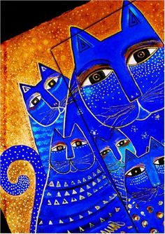 Laurel Burch Mediterranean Cats