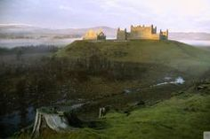 Ruthven Barracks,Kingussie, Inverness-shire....... An infantry barracks erected in 1719 following the Jacobite rising of 1715. Captured and burnt by Princes Charles Edward Stuart's army in 1746.