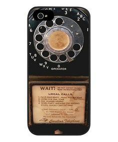 Look what I found on #zulily! Vintage Payphone Case for iPhone 5/5s #zulilyfinds