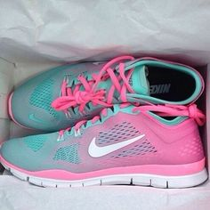 Cotton Candy Nikes. ❤️