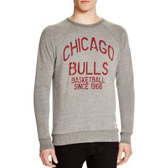 Sportiqe Chicago Bulls Basketball Sweatshirt ($70) ❤ liked on Polyvore featuring men's fashion, men's clothing, men's hoodies, men's sweatshirts, grey and mens graphic sweatshirts