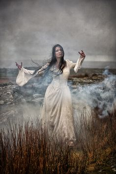"""lunaesquephotography: """" darkbeautymag: """" Photographer: Carri Angel - Lunaesque Creative Photography """" One of our images from the 'Wuthering Heights' set has been featured today by 'Dark Beauty'. Fantasy Photography, Conceptual Photography, Creative Photography, Ethereal Photography, Color Mauve, Wuthering Heights, Sea Witch, Dark Beauty, Gothic Beauty"""