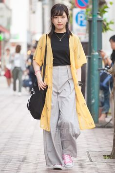 Moe | NO BRAND CONVERSE UNIQLO LAST LIBERTY g.u. | 4th week May. 2017 | Shibuya | Tokyo Street Style | TOKYO STREET FASHION NEWS | style-arena.jp