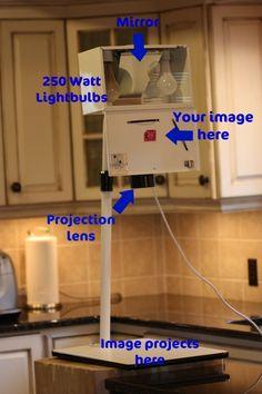 labelled kopykake projector