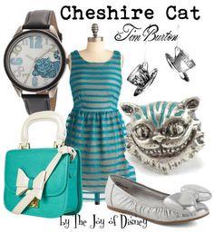 by The Joy of Disney http://www.thejoyofdisney.com/2012/04/cheshire-cat-by-tim-burton-alice-in.html