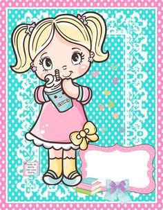School Clipart, Cardcaptor Sakura, Disney Cars, Rose Buds, Cute Cartoon, Paper Dolls, Cute Girls, Cute Pictures, Chibi