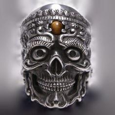 Tibetan Skull RingMore Pins Like This At FOSTERGINGER @ Pinterest