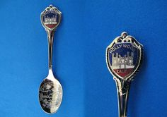 Souvenir Spoons From Different States | Hollywood California Souvenir Collector Spoon Collectible Golden State