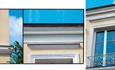 Rénover une façade : des moulures refaites à neuf (http://www.systemed.fr/)