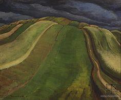 Edmund Gwerk Oravské polia 1931 Artists, Nature, Painting, Pulley, Weaving, Naturaleza, Painting Art, Paintings, Nature Illustration