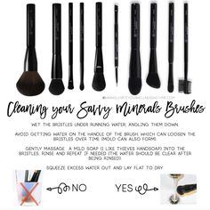 Make up brush cleaner. how to take care of your make up brushes so they last - Make up brush cleaner… how to take care of your make up brushes so they last - Coconut Essential Oil, Yl Essential Oils, Young Living Essential Oils, Make Makeup, How To Clean Makeup Brushes, Simple Makeup, Make Up Palette, Young Living Makeup, Make Up Brush
