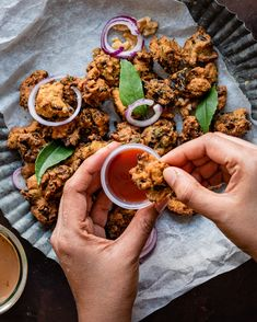 Walnut Vegan Pakora Recipe -This delicious, vegan appetizer is simple, crunchy, nutty and  sure to satisfy everyone's tastebuds. This tea time Indian snack using  healthy walnuts and aromatic spices is perfect with a cup of chai...! #pakora #teatimesnack #cawalnuts @californiawalnuts #ad #pakoda #indianfood #friedfood #snacks #appetizer #partyrecipes #vegan #vegetarian   cookingwithpree.com