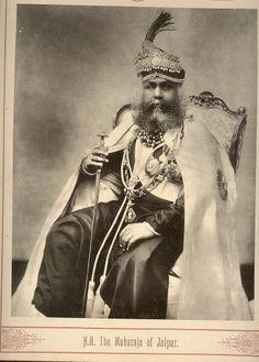 Maharaja of Jaipur Late 19th century