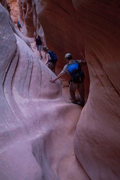 Little Wildhorse Canyon, Utah.  A great slot canyon to do a day hike.