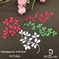 AlinaCraft METALLO TAGLIO MUORE foglia di natale berry album di carta di Scrapbooking del mestiere di carta pugno stencil art cutter|Fustelle| - AliExpress Stencil Cutter, Stencil Art, Candy Gift Box, Candy Gifts, Scrapbook Paper Crafts, Diy Scrapbook, Spring Branch, Background Diy, Vides