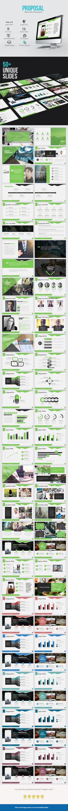 Proposal Power Point Presentation - Business PowerPoint Templates