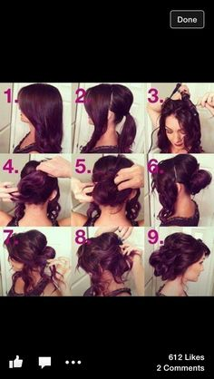 would take me a few times to get it right.. but think its pretty :) probably more so for dark hair. but worth trying!