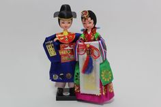 Korean Traditional Dress Hanbok Doll - Outfit For Bride and Groom #DollswithClothingAccessories