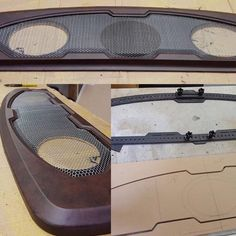 Where can get sheet of perferated metal? Car Interior Upholstery, Automotive Upholstery, Custom Car Interior, Truck Interior, Custom Car Audio, Custom Cars, Car Audio Installation, Subwoofer Box Design, Passat B5