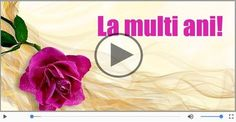 La Multi Ani Gif, Happy Birthday Me, Happy Mothers Day, Motto, Holiday Parties, Deep, Floral, Party, Gifts
