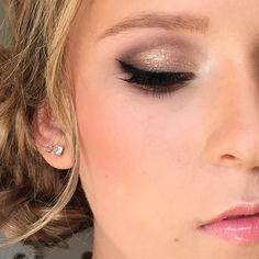 glitter eye, polish & pout