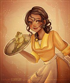 Tiana and Naveen by Nummyumy on DeviantArt - CLS Disney Princess Art, Disney Fan Art, Disney Love, Disney Princesses, Disney Stuff, Princess Party, Arte Disney, Disney Magic, Disney And Dreamworks