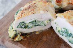 #paleo Spinach Artichoke Dip Chicken