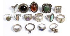 Silver Jewelry Box, Cute Jewelry, Jewelry Rings, Jewelry Accessories, Jewelry Design, Silver Rings, Jewlery, Silver Bracelets, Vintage Jewelry