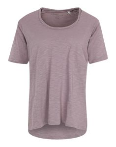 Liebeskind Berlin T-Shirt aus Slub Yarn-Jersey rosé