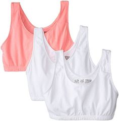 Fruit of the Loom Women's Built-Up Sports Bra, Pack of Three Fruit of the Loom via https://www.bittopper.com/item/fruit-of-the-loom-womens-built-up-sports-bra-pack-of/