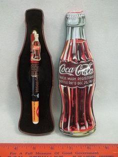 Coca Cola Pen In Tin Case :